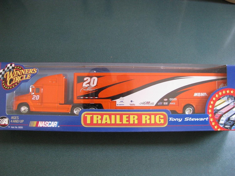 Amazon Com 2001 Tony Stewart 20 Home Depot Hauler Trailer Transporter Semi Tractor Rig Truck 1 64 Scale Winners Circle Toys Games