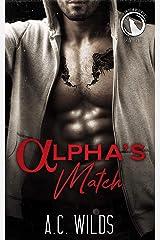 Alpha's Match: Bravecrest Pack (North American Werewolves Book 3) Kindle Edition