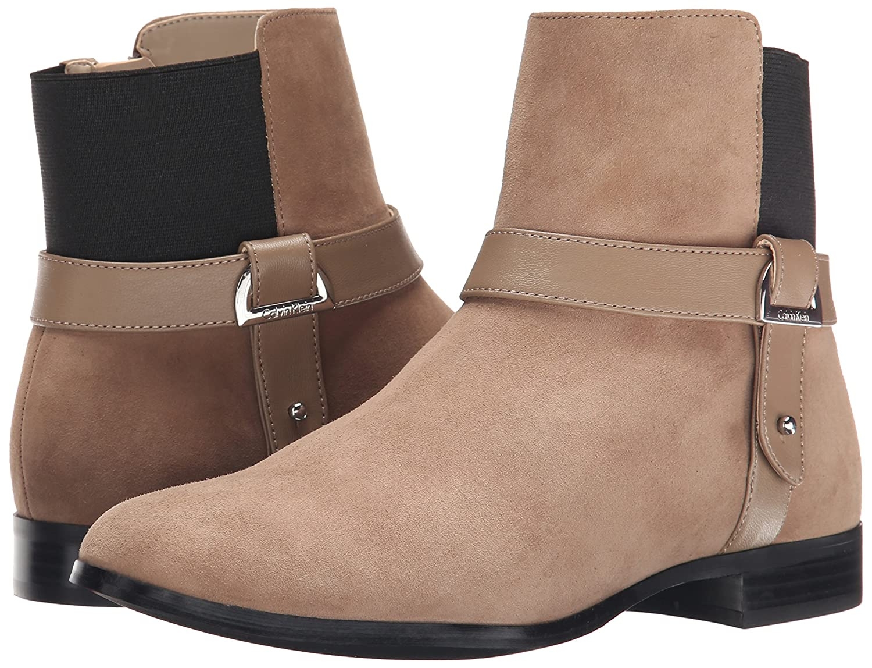 Calvin Klein Women's Raison B(M) Boot B00W34E61A 6 B(M) Raison US|Mink/Black 3d58da