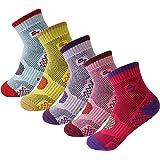 5pack Women's Full Cushion Mid Quarter Length Hiking Socks