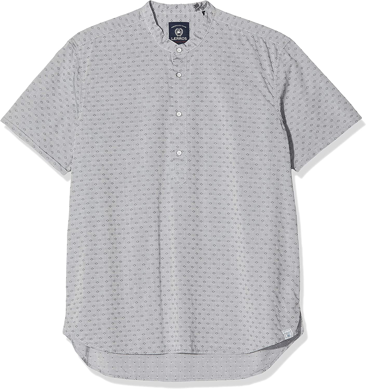 LERROS 2752928 Camisa, Grau (Rock Grey 269), XXL para Hombre: Amazon.es: Ropa y accesorios