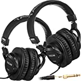 TASCAM TH-MX2 Recording Mixing Home Studio Headphones (2 Pieces)
