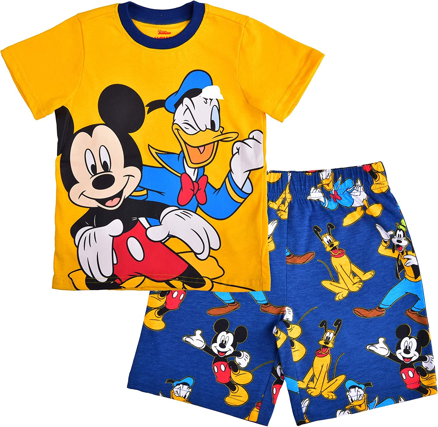 Disney Boy's 2-Piece Mickey and Friends Tee and Short Set