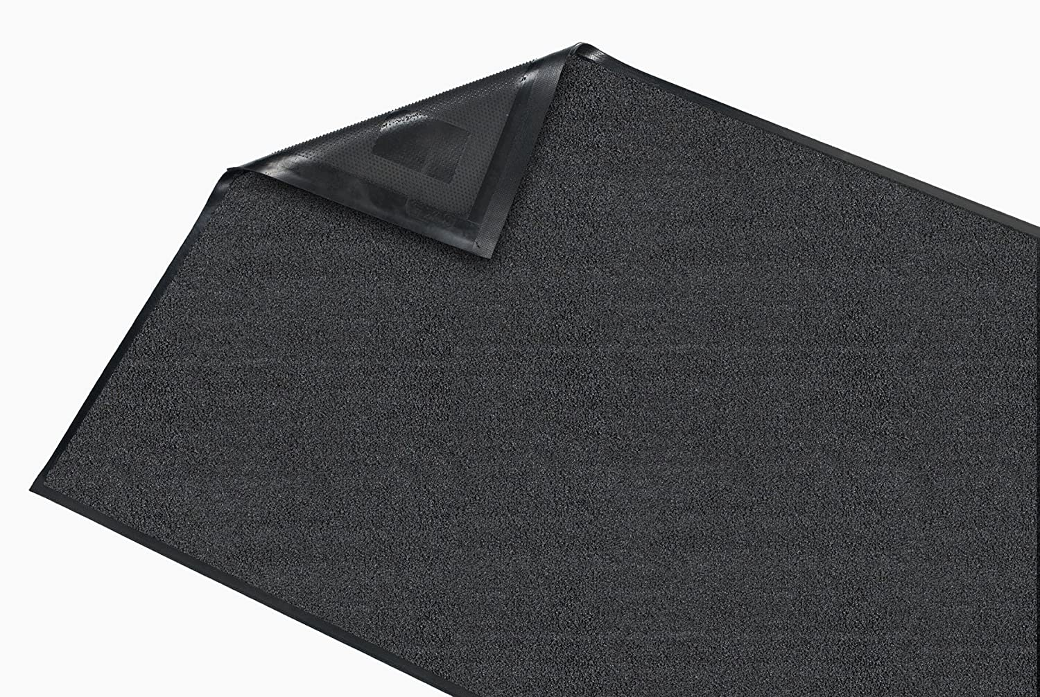 Grey 3x19 Rubber with Nylon Carpet Guardian Platinum Series Indoor Wiper Floor Mat