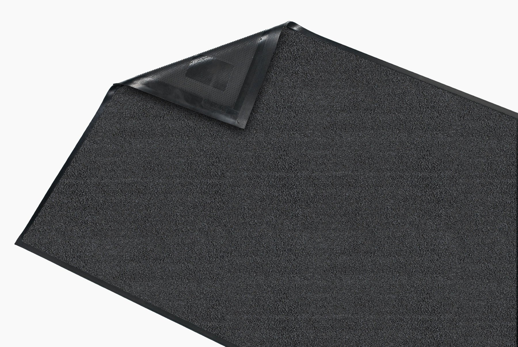 Guardian Platinum Series Indoor Wiper Floor Mat, Rubber with Nylon Carpet, 3'x15', Grey by Guardian (Image #4)