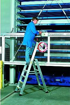Zarges aleación-escalera con seguridad puente Seventec 311 Z500 40335: Amazon.es: Bricolaje y herramientas