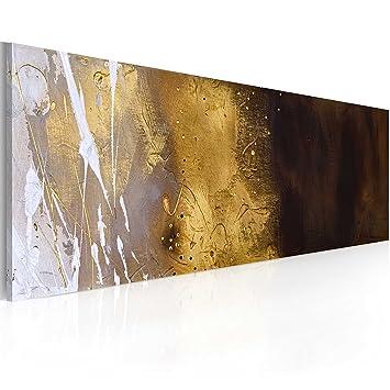 Handgemalte Bilder Auf Leinwand murando handgemalte bilder auf leinwand abstrakt 100x40 cm 1