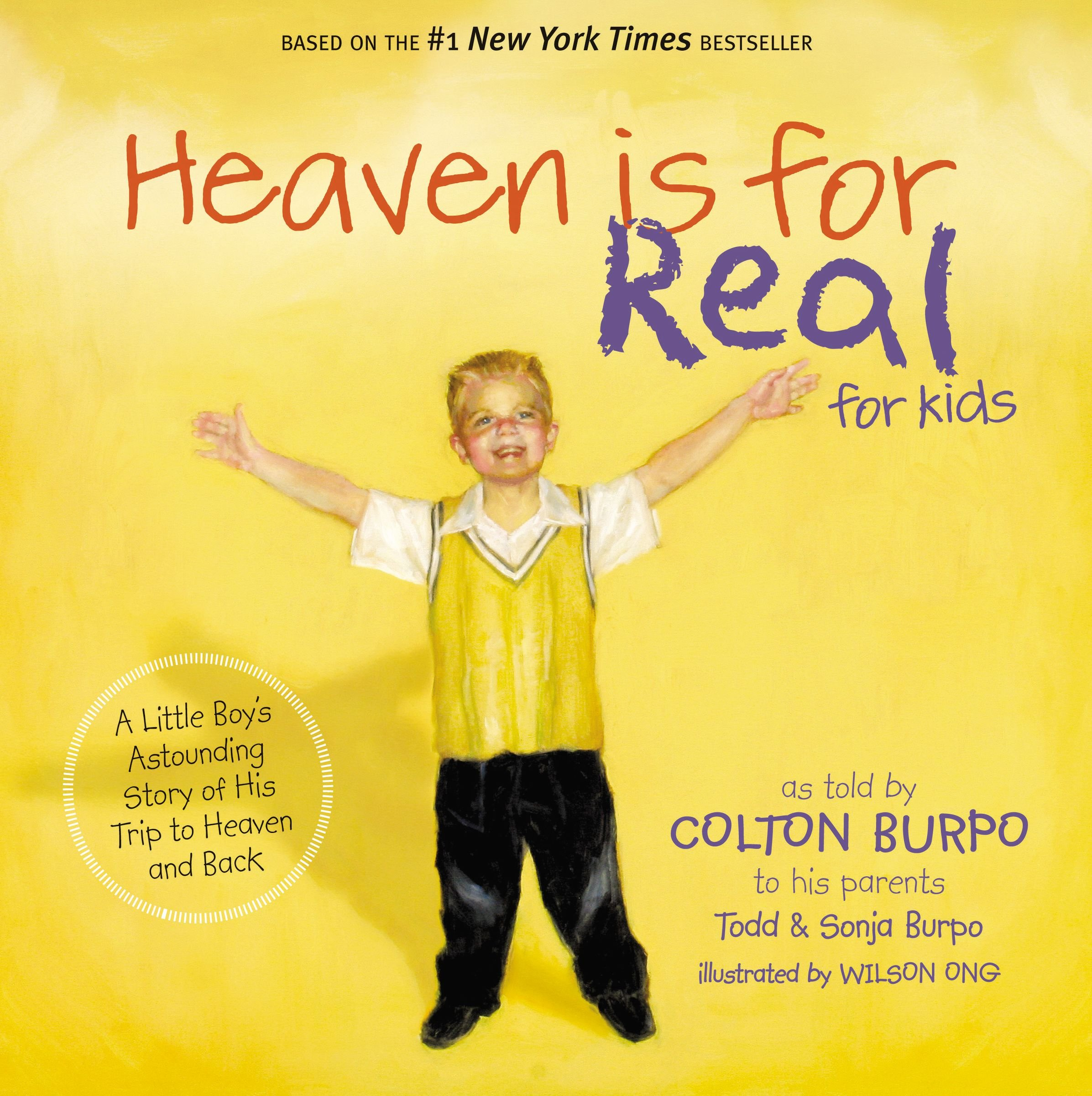 Download HEAVEN IS FOR REAL FOR KIDS (International Edition): A Little Boy's Astounding Story of His Trip to Heaven and Back PDF