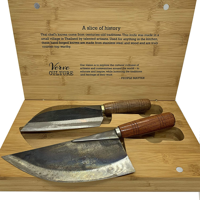 Amazon.com: Juego de cuchillos de luna tailandesa: Kitchen ...