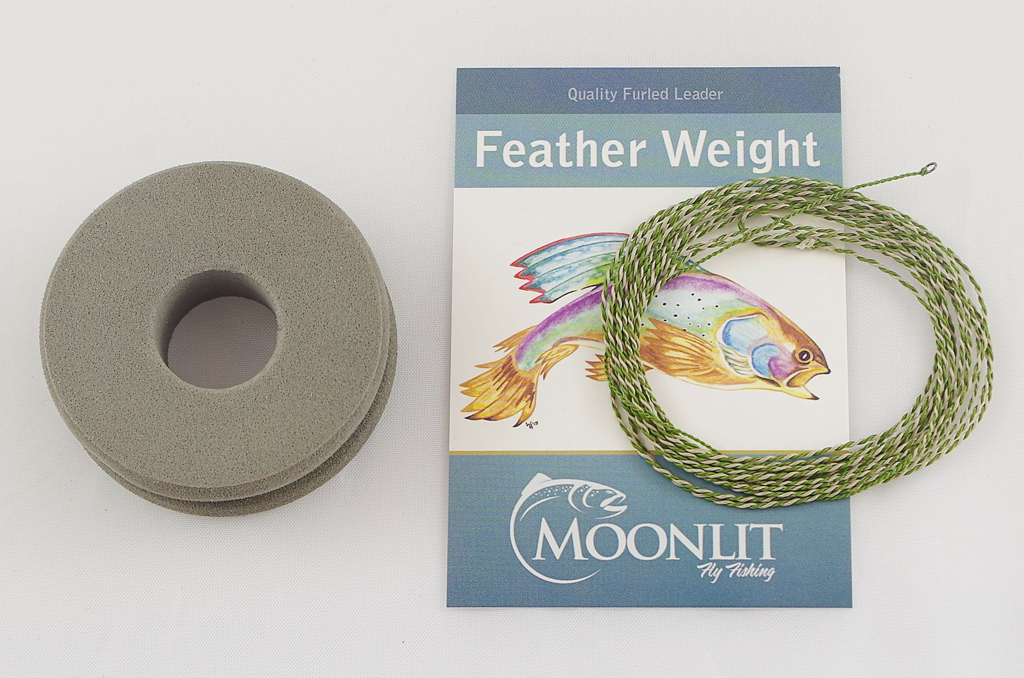 Featherweight Dry Fly Leader (Quality Furled Leader - Made in The USA) (0-3wt)
