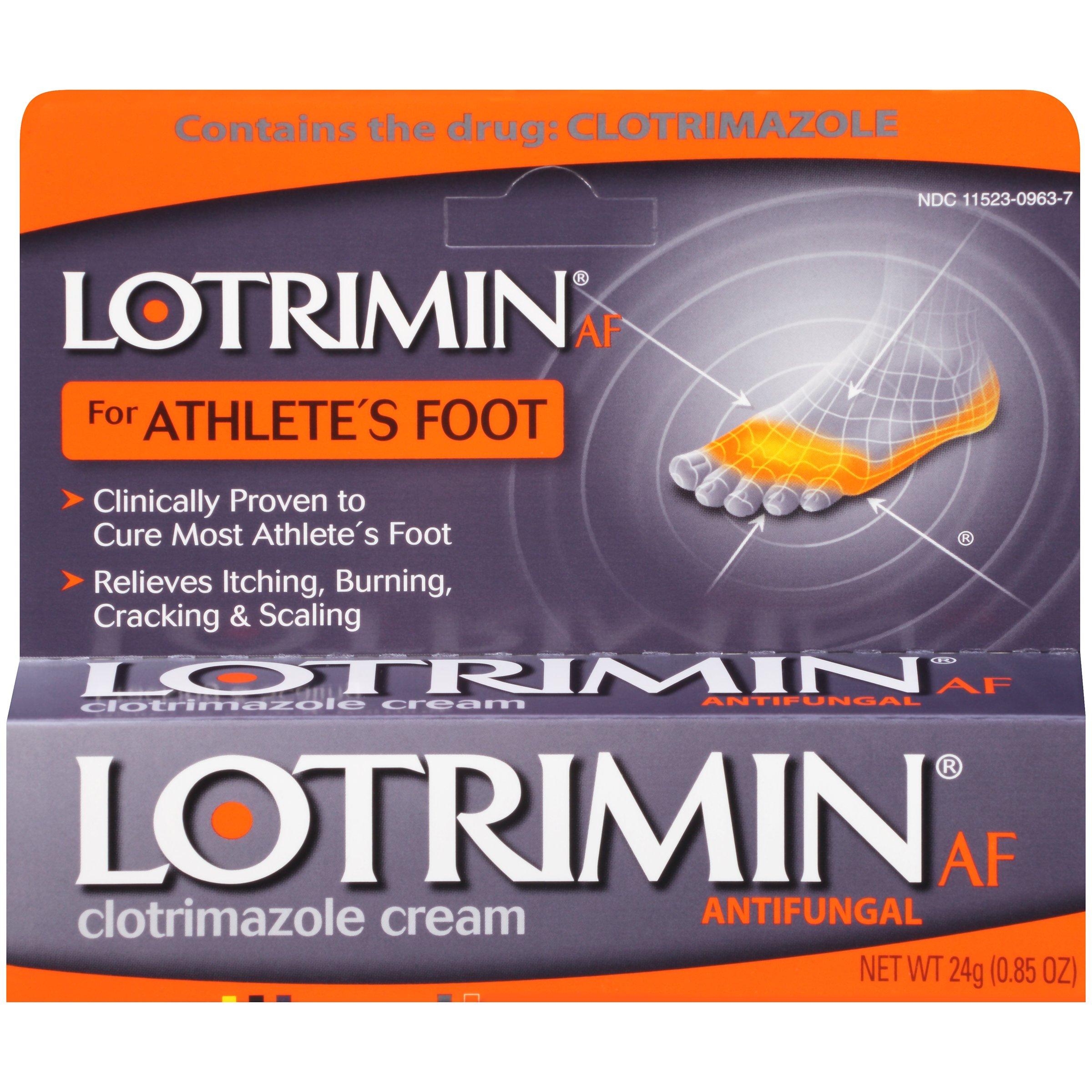 Amazon Com Lotrimin Antifungal Powder For Athlete S Foot