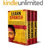 Learn Spanish for beginners: Learn Spanish in a Fun Way with Conversations and Tales You Can Even Listen in Your Car.Improve