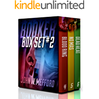 BOOKER Box Set #2 (Books 4-6: A Private Investigator Thriller Series of Crime and Suspense)
