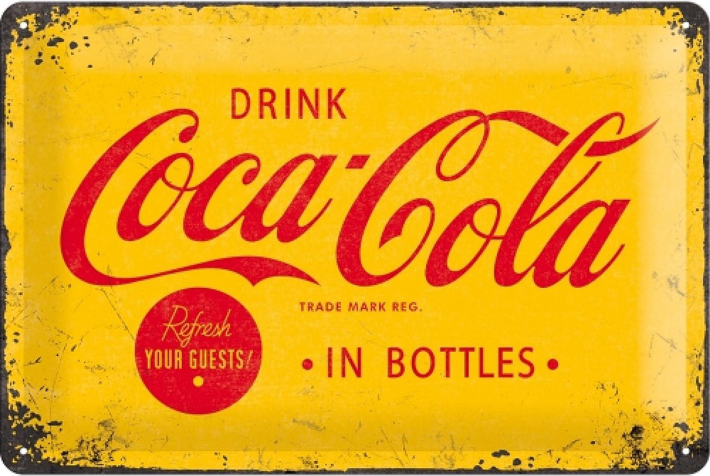 Nostalgic-Art Coca Cola Logo