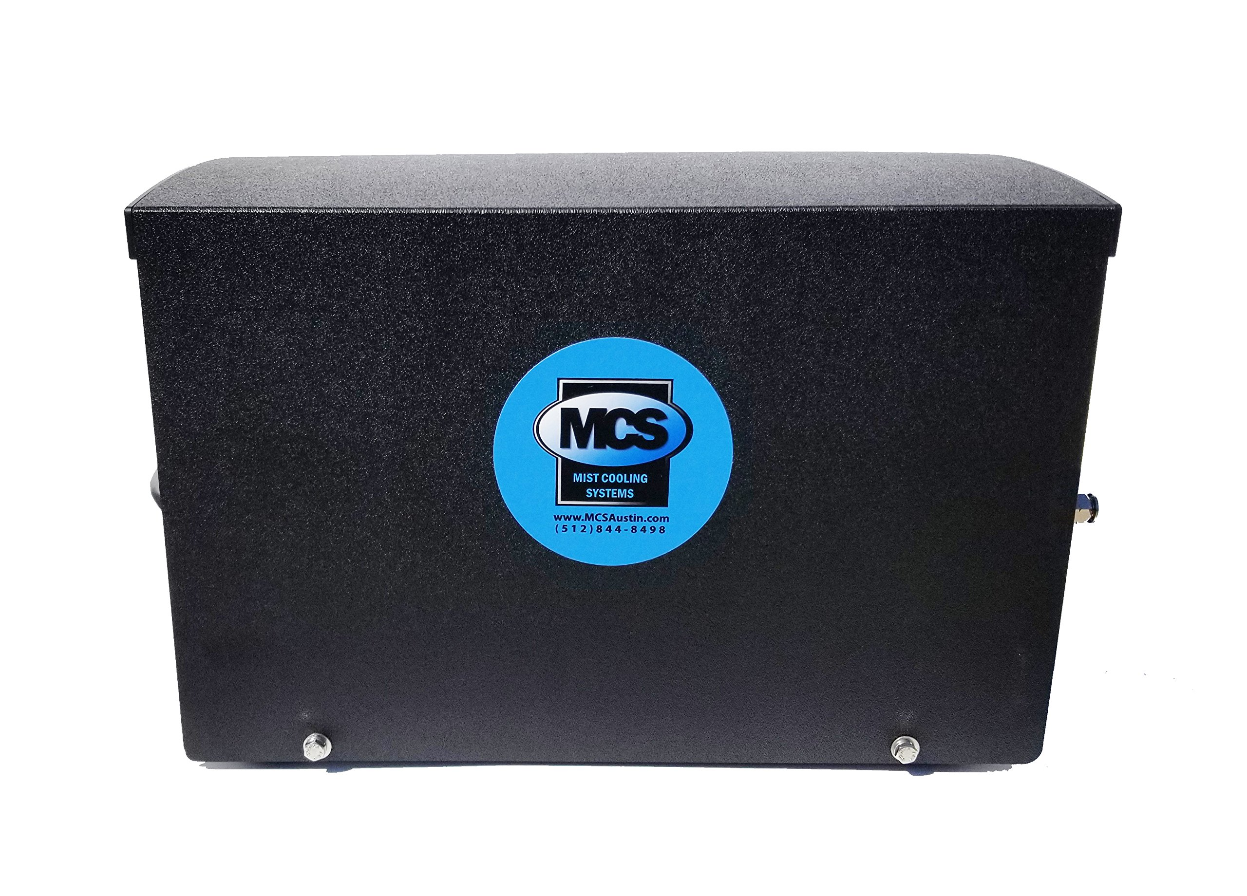 Open Frame Mist Cooling System Cover by Mosquito and Cooling Systems, Inc.