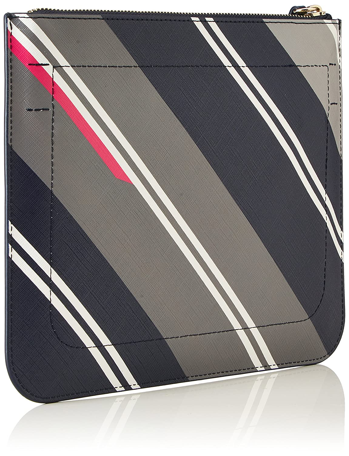 Love Crossover Print, Womens Cross-Body Bag, Grau (Hella Stripes/navy), 2.5x20.5x25.5 cm (B x H T) Tommy Hilfiger