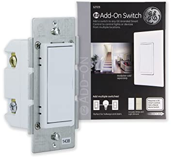 ge 45613 wave wireless lighting control. GE Add-On Switch Only For Z-Wave, ZigBee And Ge 45613 Wave Wireless Lighting Control L