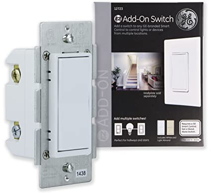 Ge Add On Switch Only For Ge Z Wave Ge Zigbee And Ge Bluetooth