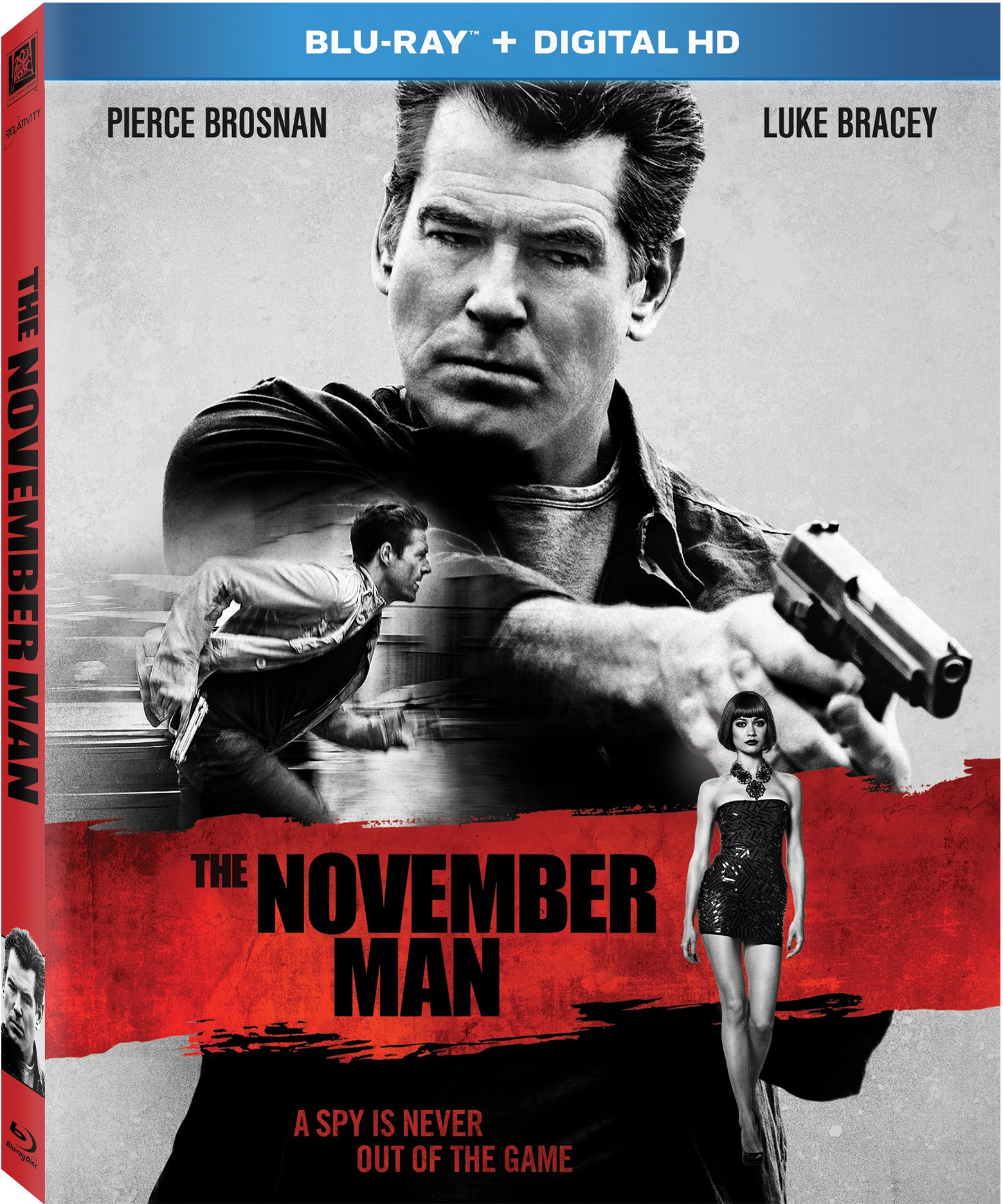 Blu-ray : The November Man (Dolby, Digital Theater System, Digitally Mastered in HD, AC-3, Widescreen)