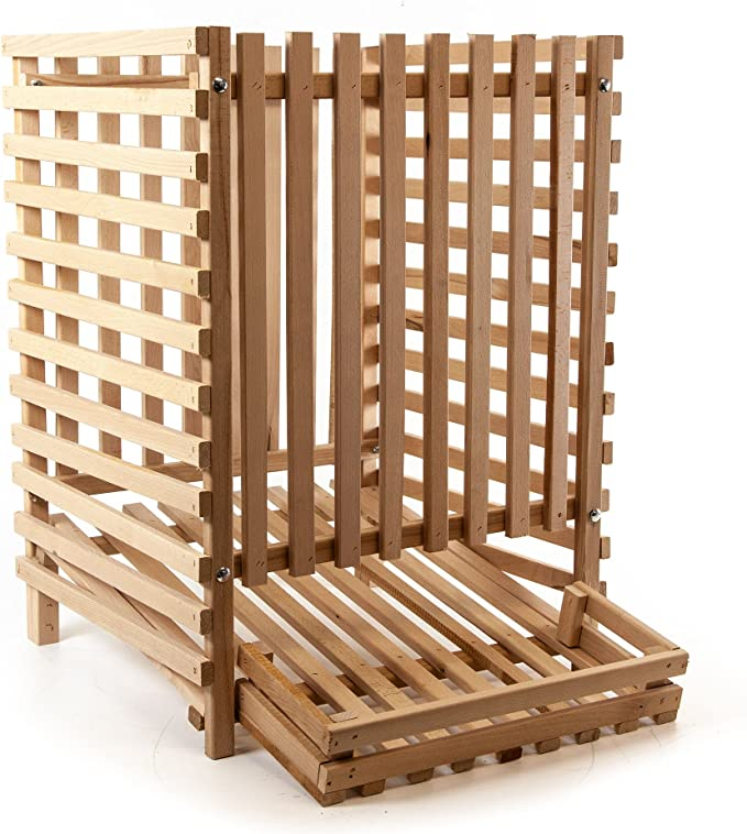 Madera Hada patatas Caja de madera caja, 100 kg: Amazon.es: Hogar