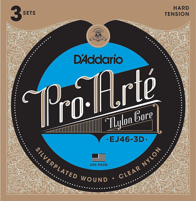 DAddario EJ46-3D cuerda para instrumento musical Guitarra Nylon Clásico 6 pieza(s): Amazon.es: Electrónica