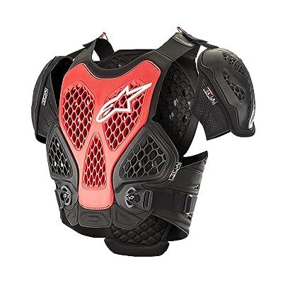 Alpinestars Bionic Motorcycle Chest Protector, Black/Red, Medium/Large: Automotive