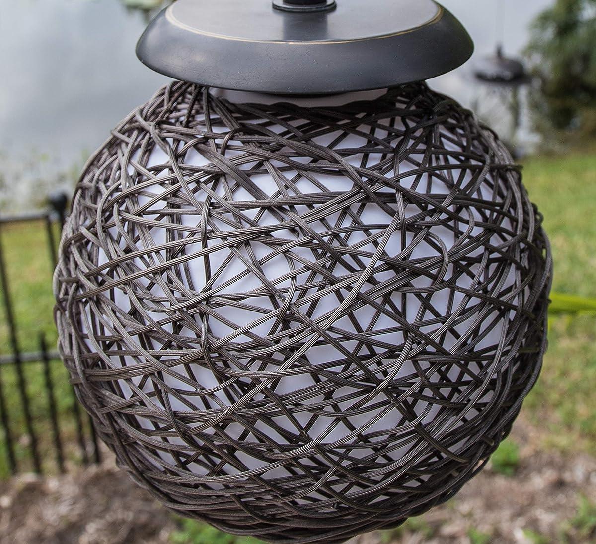 Kenroy Home 32246BRZ Castillo Outdoor Floor Lamp, Bronze Finish