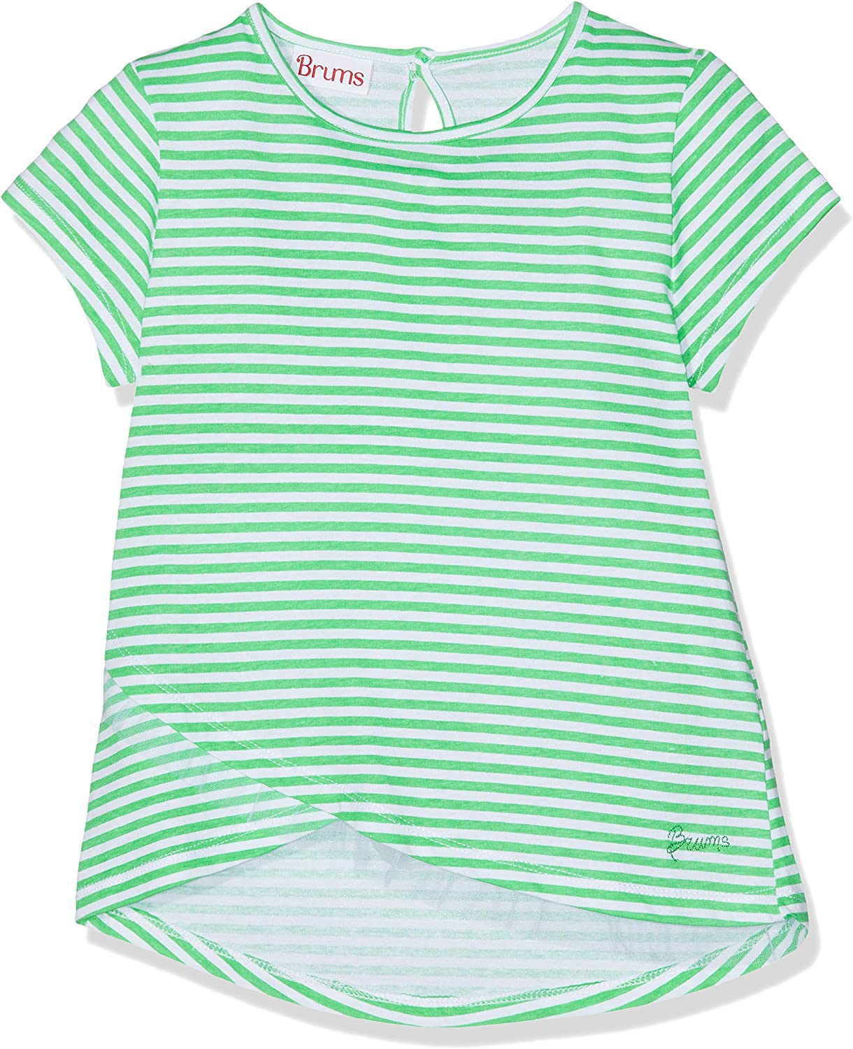 Brums T-Shirt Jersey con Rouches in Tulle Bambina