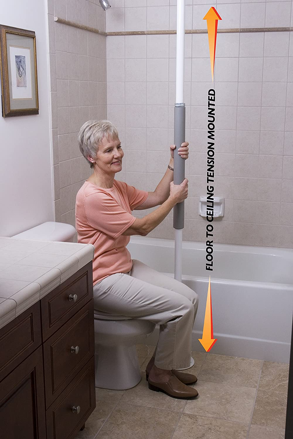 Amazon.com: Stander Security Pole - Tension Mounted Elderly ...