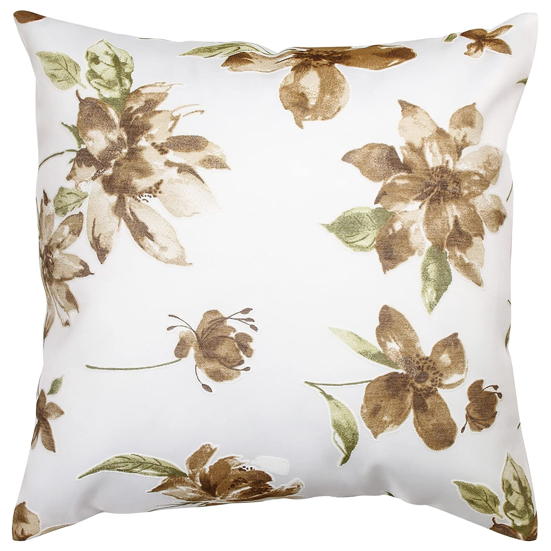 Kess InHouse EBI Emporium Color Me Floral Celestial Blue 26 Round Floor Pillow