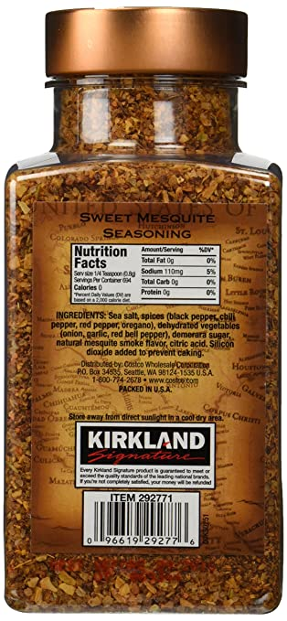 Kirkland Signature Sweet Mesquite Seasoning - 19 6 Oz
