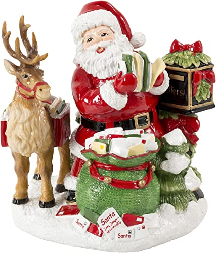 Letters to Santa Collection, Jingle Bells Musical Figurine
