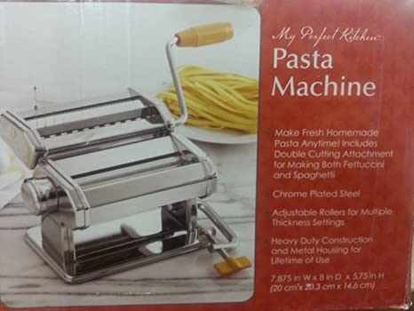 Amazon.com: Bed Bath and Beyond Pasta Machine: Kitchen & Dining
