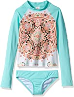 Billabong Girls' Groovy Luv Long Sleeve Rashguard Set