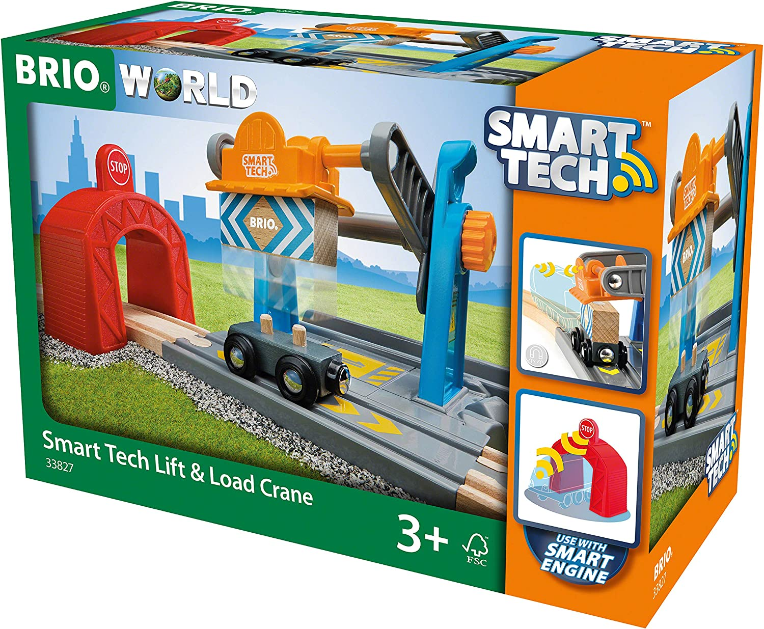 Brio 33827 World-Smart Tech Railway-Harbor Crane
