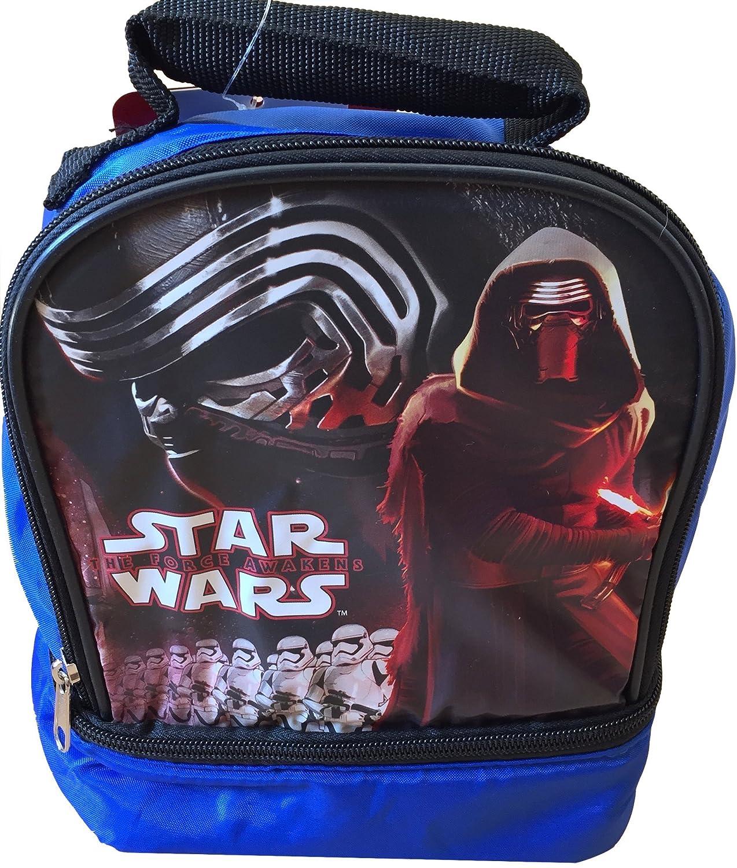 Star Wars Rebeldes de los niños caja de almuerzo Set de regalo incluye Star Wars Sandwich Recipiente con Star Wars botella de agua y juego de cubiertos de ...