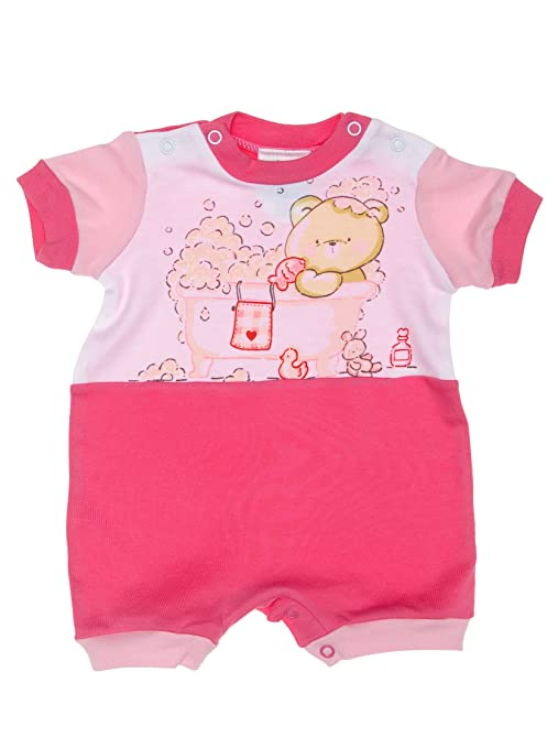F.S. Baby Pelele Corto Fucsia 9 Meses
