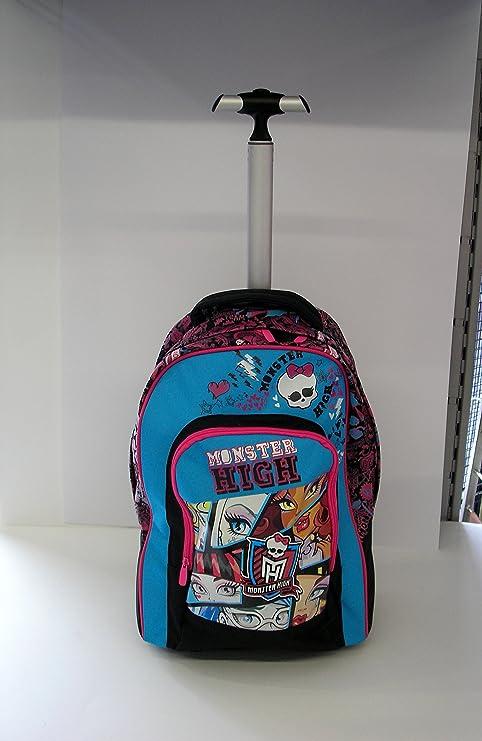 e71bcab6f5 Monster High trolley zaino scuola 2014/2015: Amazon.it: Giochi e ...