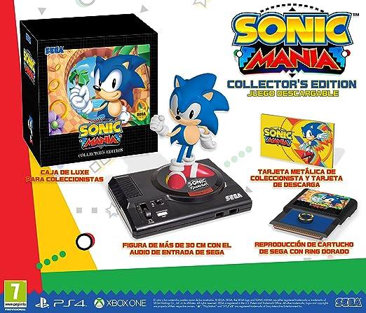 Sonic Mania Edición Coleccionista (PS4): Amazon.es: Videojuegos