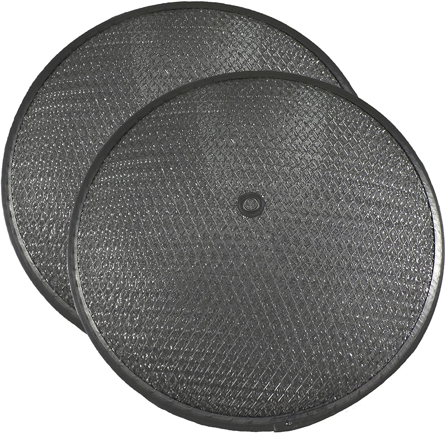 2 PACK Air Filter Factory 10-1/2 Inches x 1-1/4 Inch Rise With Center Hole Range Hood Aluminum Grease Dome Filters