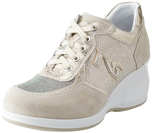 Oxigen, Sneaker Donna, Beige, 38 EU Nero Giardini