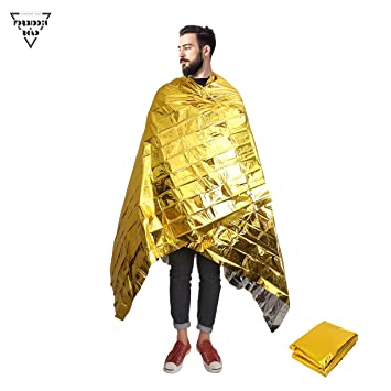 Forbidden Road Emergency Blanket 3 Types First Aid Thermal Survival Foil Blanket Warm for Camping Hiking