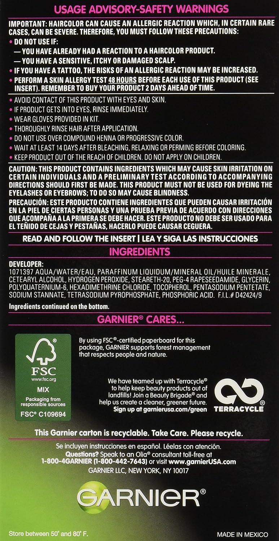 Buy Garnier Olia Oil Powered Permanent Haircolor Soft Black 20