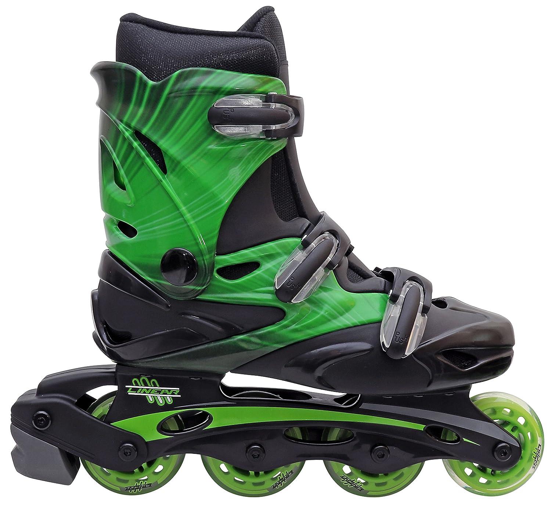 47c599d2311 Linear Roller Blades - Inline Skates for Women, Men, Kids - Adult & Child  Patines Roller Skate Blade - Rollerblades Women/Rollerblades Men (Green  Lazer, ...