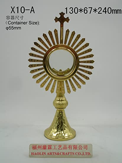 amazon com x10 a christian catholic church priest monstrance