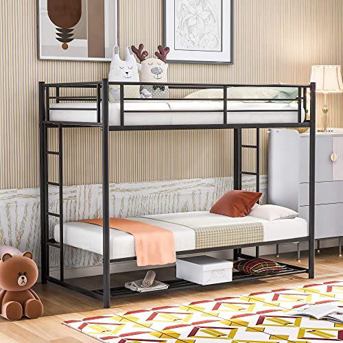 Harper Bright Designs Twin Over Twin Bunk Beds