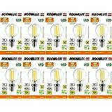 10X Roomlux E14 4W P45 470 Lumen 2700K, lampadina led e14,lampadina led,lampadine a led,lampadine led e14