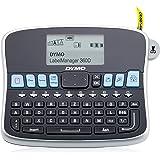 DYMO LabelManager 360D Térmica directa 180 x 180DPI Negro, Plata - Impresora de etiquetas (Térmica directa, 180 x 180 DPI, 12 mm/s, LCD, 9 etiqueta(s), 1,9 cm)