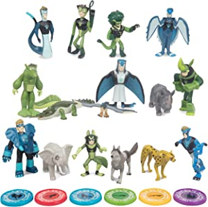 Wild Kratts Toys 22 Piece Collector Action Figure Set - Figures and Discs