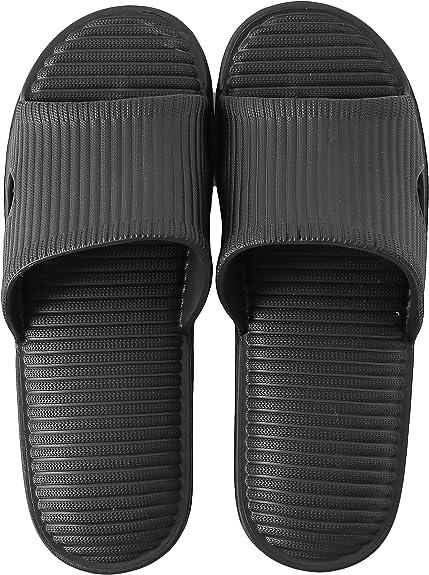 Men Bathroom Bathing Shower Shoes Slippers Waterproof Beach Non-Slip Sandals